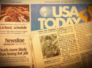 USA Today July 2011
